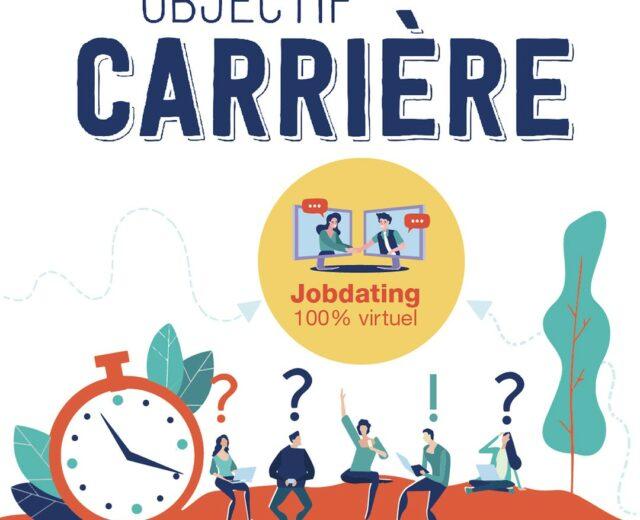 L'édition 2021 d'Objectif Carrière sera virtuelle et aura lieu les 18 et 19 février 2021 !